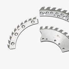 Segmenten/ringen voor profielverspaners